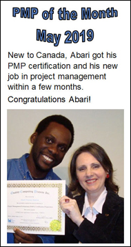 PMP Prep Course Student Toronto